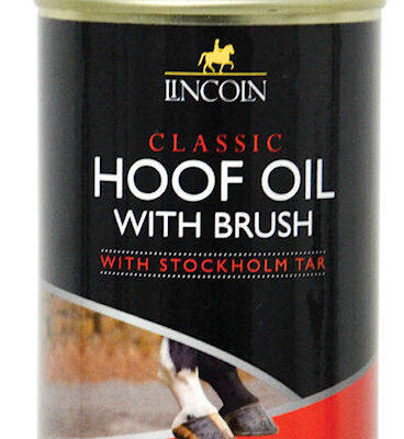 Lincoln hoof oil with brush