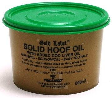 Gold Label solid hoof oil